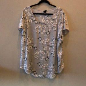 NWT Torrid floral blouse